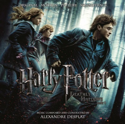 vinyl 2LP HARRY POTTER & THE DEATHLY HALLOWS PT.1 (soundtrack)