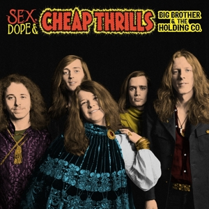 vinyl 2LP BIG BROTHER & THE HOLDING COMPANY Sex, Dope and Cheap Thrills