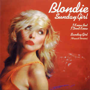 "vinyl 12"" maxi SP BLONDIE Sunday Girl"