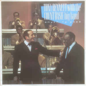vinyl LP TONY BENNETT With COUNT BASIE Anything Goes