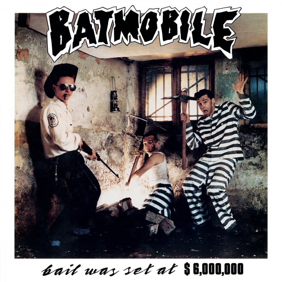 vinyl LP BATMOBILE Bail Was Set At $6000000