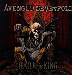 vinyl 2LP AVENGED SEVENFOLD Hail To the King