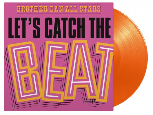 vinyl LP Brother Dan All Stars Let's Catch the Beat