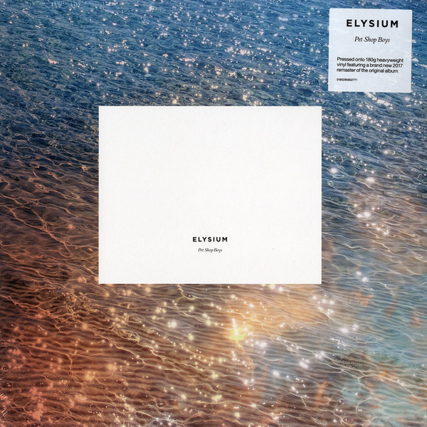 vinyl LP PET SHOP BOYS Elysium