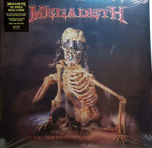 vinyl 2LP MEGADETH The World Needs A Hero