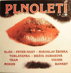 vinyl LP Plnoletí (various artists)