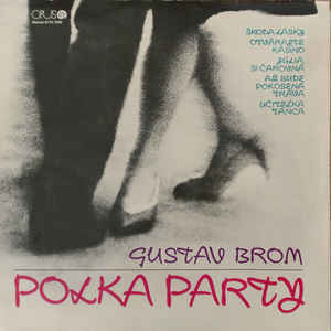vinyl LP GUSTAV BROM Polka Party
