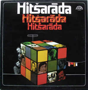 vinyl LP HITŠARÁDA (various artists)