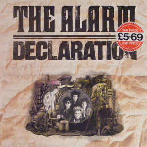 vinyl LP THE ALARM Declaration