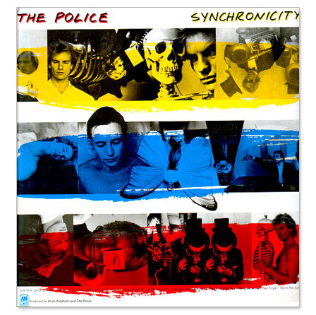 vinyl LP THE POLICE Synchronicity