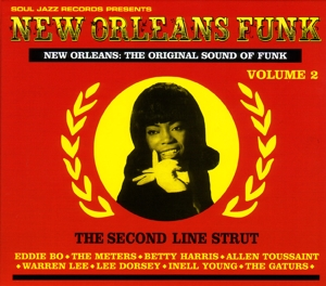 vinyl 3LP New Orleans Funk Vol. 2 (various artists)