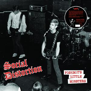 "vinyl 7""SP singel Social Distortion - Poshboy's Little Monsters"