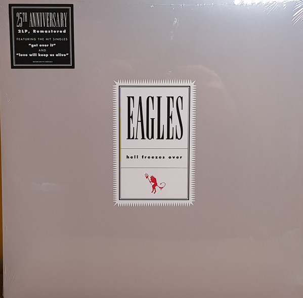 vinyl 2LP EAGLES Hell Freezes Over