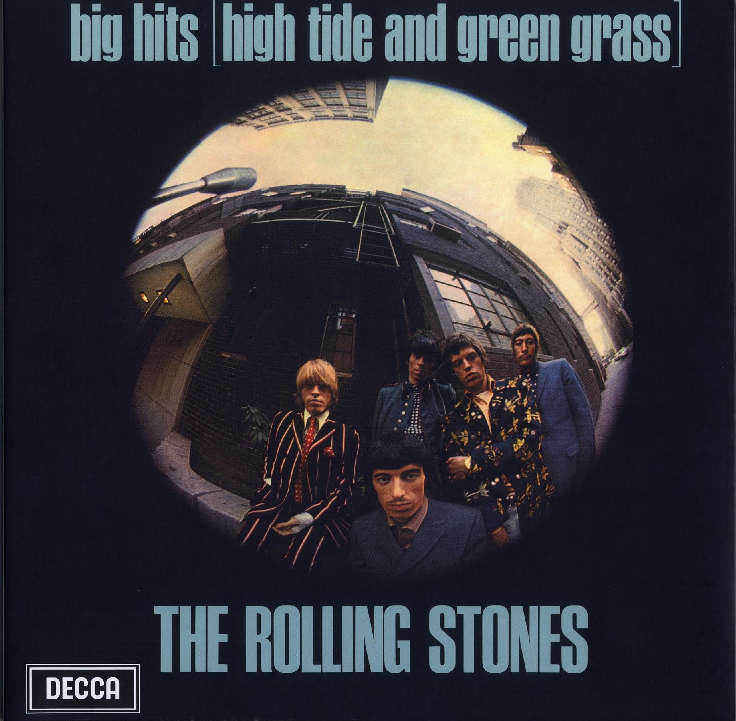 vinyl LP THE ROLLING STONES High Tide Green Grass (Big Hits Vol. 1)