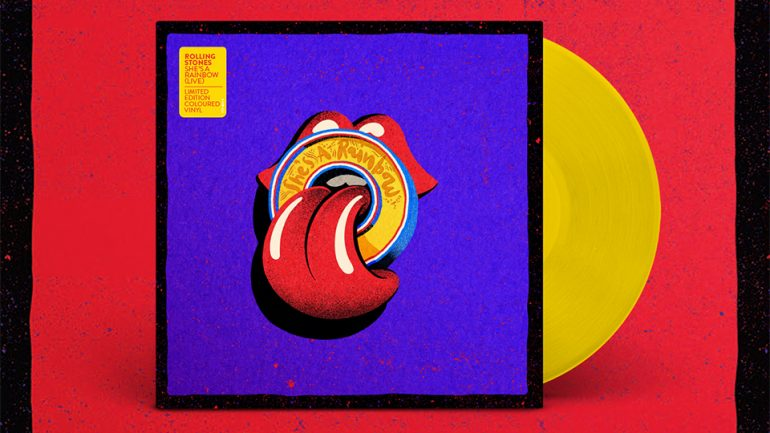 "vinyl 10"" EP THE ROLLING STONES She' s A Rainbow (Live)"