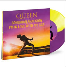 "vinyl 7"" SP QUEEN Bohemian Rhapsody"