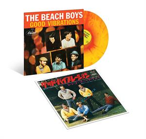 "vinyl 12"" maxi SP BEACH BOYS Good Vibrations"