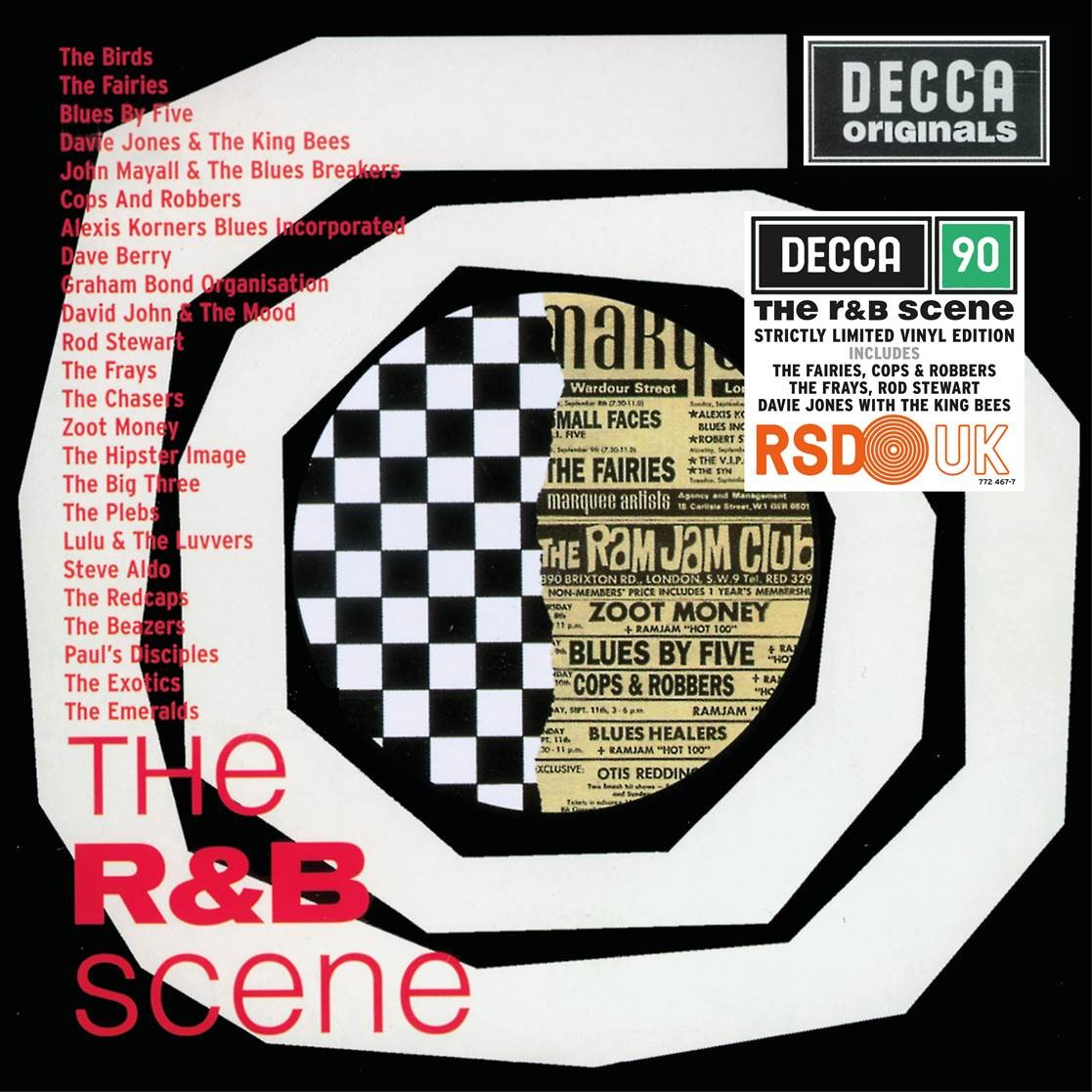 vinyl LP R&B Scene (various artists)