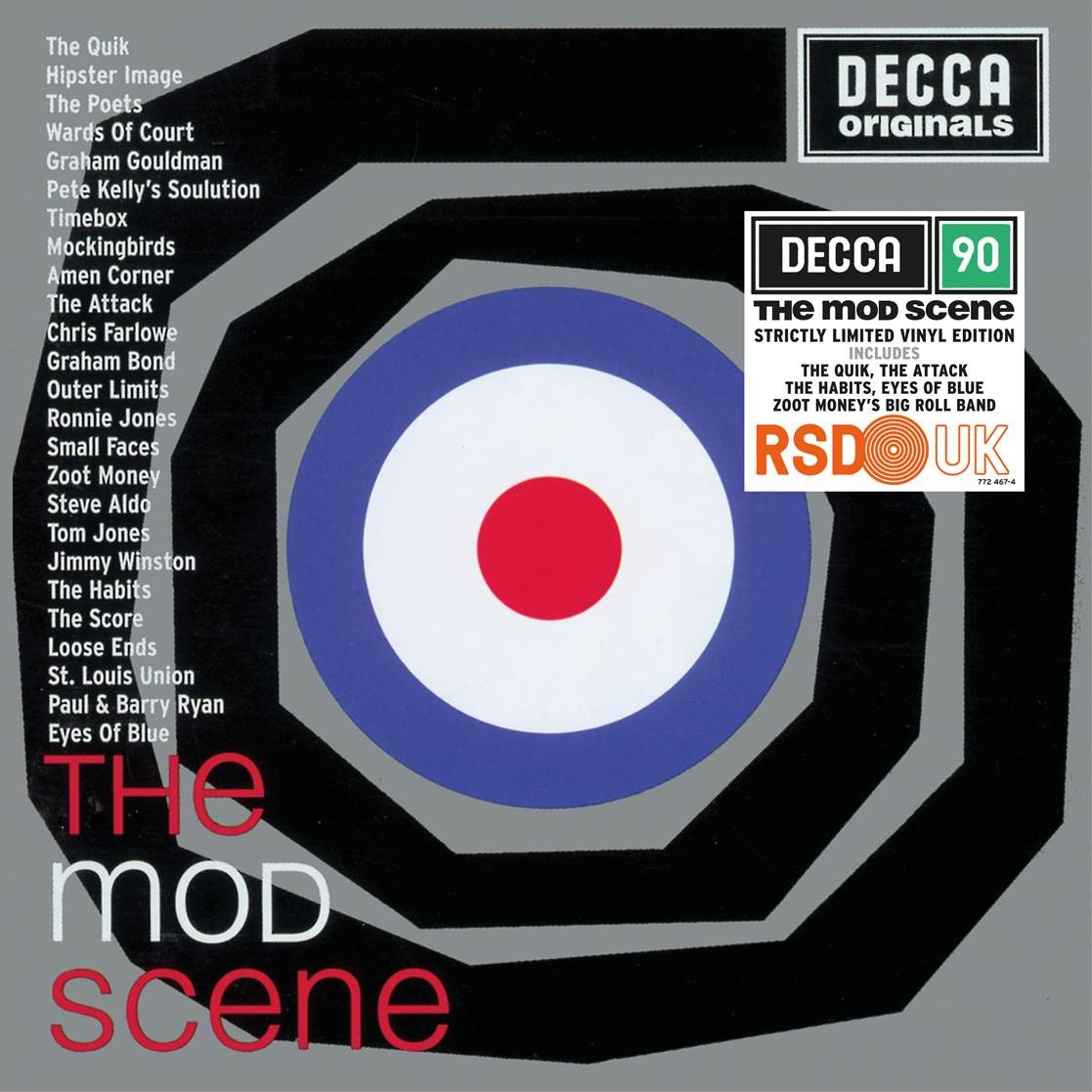 vinyl LP Mod Scene (various artists)