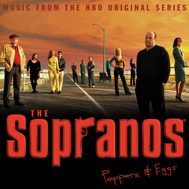 vinyl 2LP Sopranos (soundtrack)