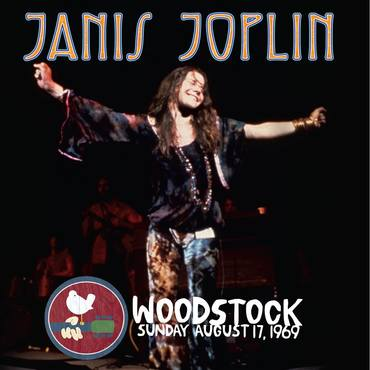 vinyl LP JANIS JOPLIN Live At Woodstock Sunday August 17, 1969