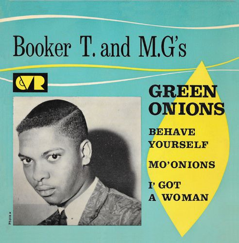 "vinyl 10"" EP BOOKER T & THE MG´S Green Onions Plus 3"