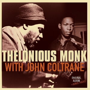 vinyl LP THELONIUS MONK with John Coltrane