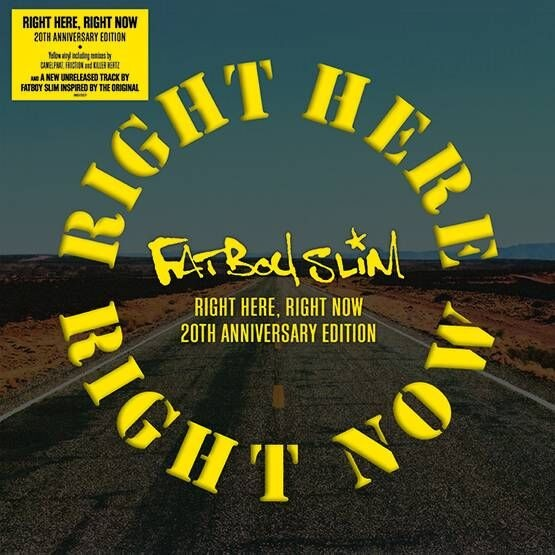 "vinyl 12"" EP FATBOY SLIM Right Here Right Now"