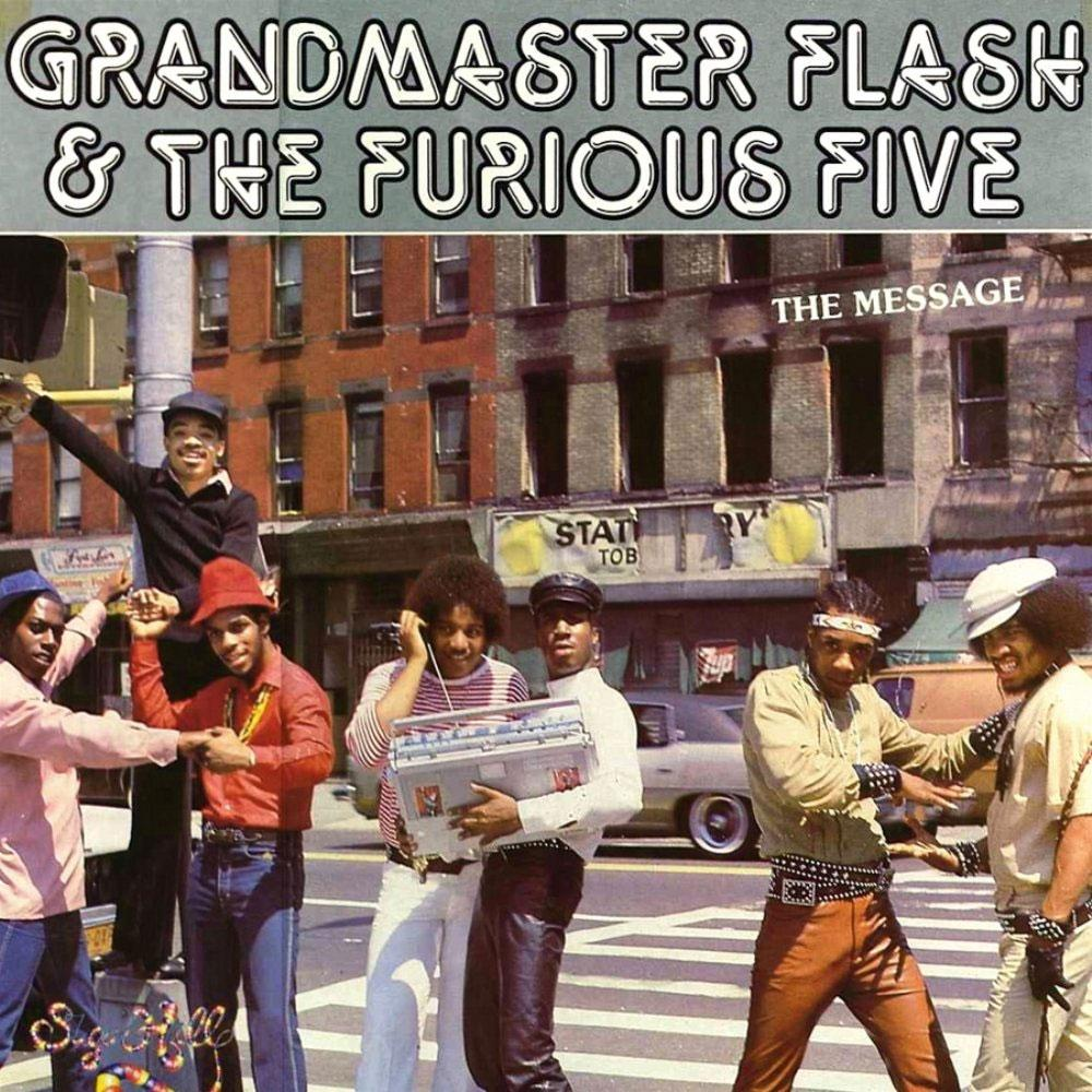 vinyl 2LP GRANDMASTER FLASH &THE FURIOUS FIVE The Message