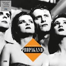 "vinyl 4x12"" maxi SP PROPAGANDA The Eight Testaments of Propaganda"