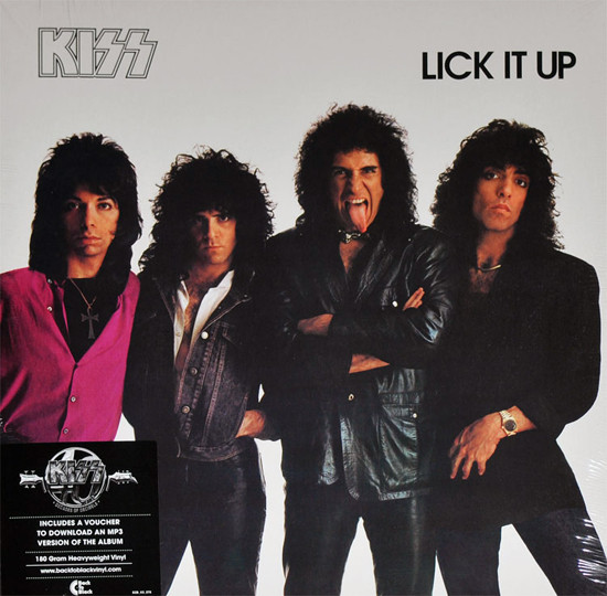 vinyl LP KISS Lick It Up