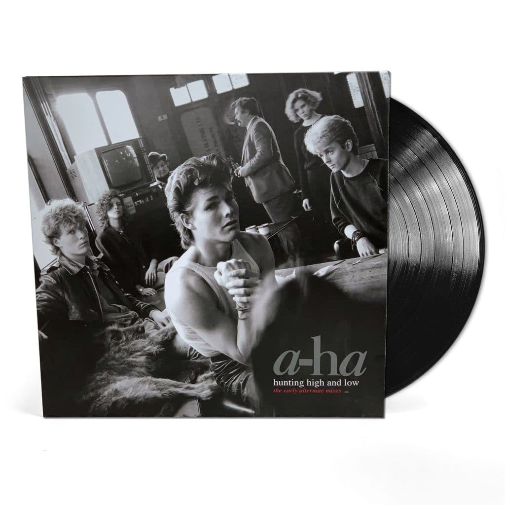 vinyl LP A-HA Hunting High & Low