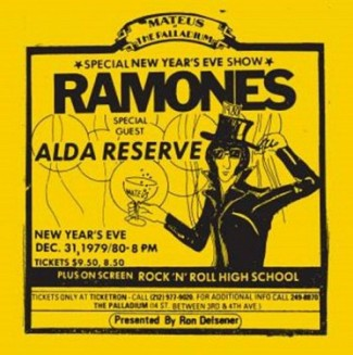 vinyl 2LP THE RAMONES Live At The Palladium