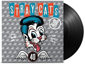 vinyl LP STRAY CATS 40