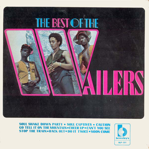 vinyl LP WAILERS Best of the Wailers Beverly's Records