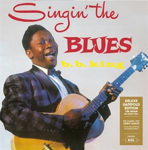 vinyl LP B.B.KING Singin' the Blues