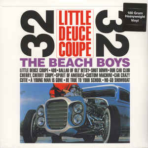 vinyl LP BEACH BOYS Littel Deuce Coupe