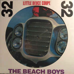 vinyl LP BEACH BOYS Little Deuce Coupe