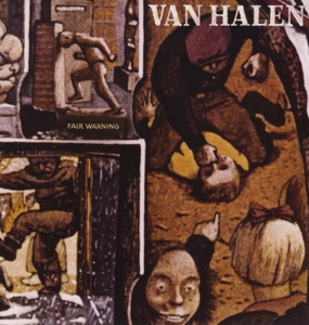 vinyl LP VAN HALEN Fair Warning