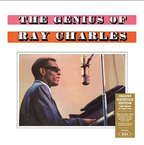 vinyl LP RAY CHARLES The Genius Of Ray Charles