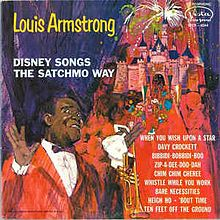 vinyl LP LOUIS ARMSTRONG Disney Songs The Stachmo Way