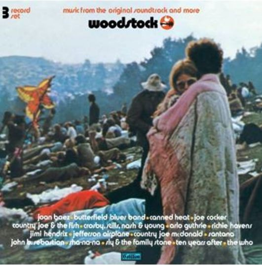 vinyl 3LP VARIOUS Woodstock