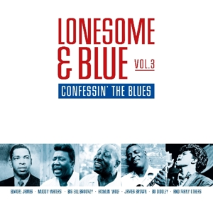 vinyl LP Lonesome & Blue Vol. 3 - Confessin' the Blues