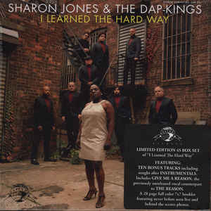 "vinyl 11x7"" SP SHARON JONES and THE DAP-KINGS I Learned The Hard Way"