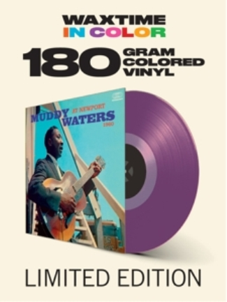 vinyl LP MUDDY WATERS At Newport 1960