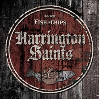 "vinyl 10""LP HARRINGTON SAINTS Fish & Chips"