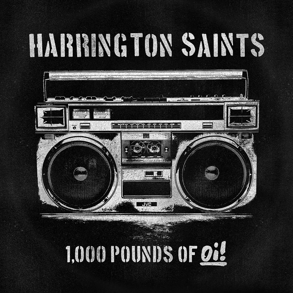 vinyl LP HARRINGTON SAINTS 1000lbs of Oi