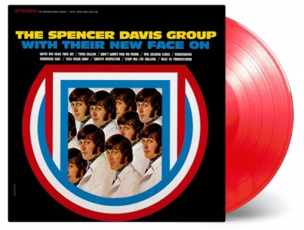 vinyl LP THE SPENCER DAVIS GROUP With Their New Face On