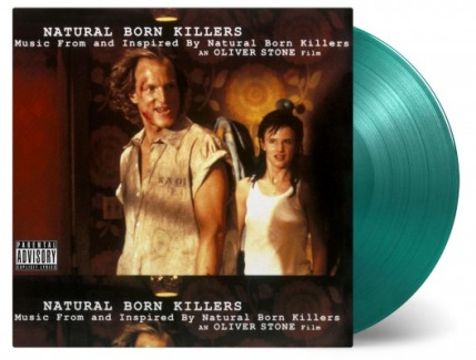 vinyl 2LP NATURAL BORN KILLERS (soundtrack )