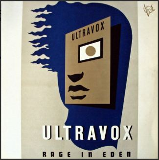 vinyl LP ULTRAVOX Rage In Eden